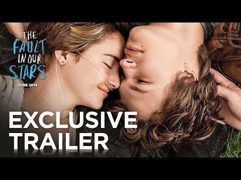 The Fault In Our Stars Official Trailer I Seriously Cant Wait To See This Bajo La Misma Estrella Augustus Waters Y Portadas De Libros