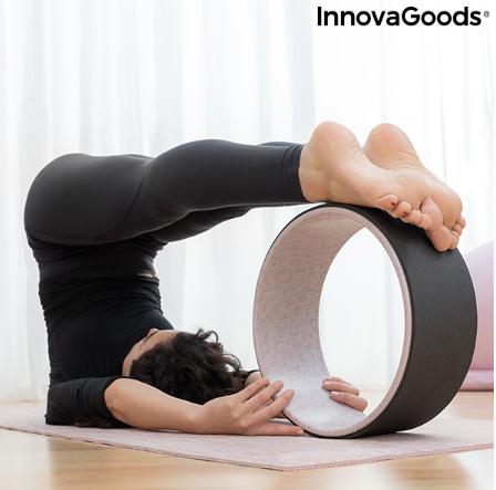 ruota per yoga  yoga esercizi di yoga fitness e ginnastica
