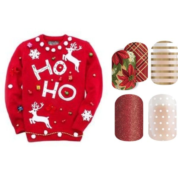 Jamberry Ugly Sweater by kellie-guravich-medivitz on Polyvore