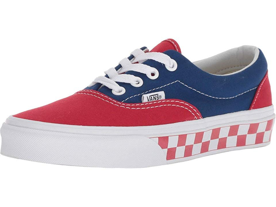 8d76a2d61df8 Vans Eratm Skate Shoes (BMX Checkerboard) True Blue Red