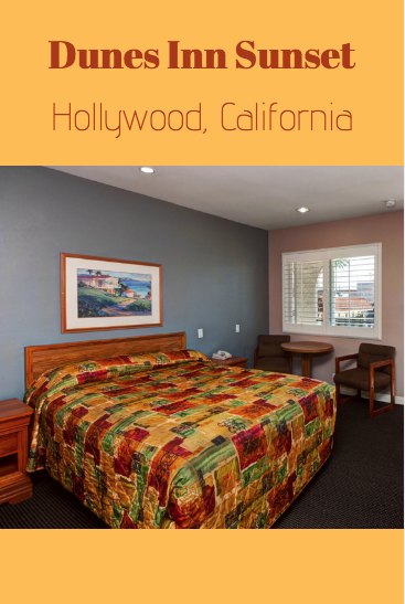Staying In Hollywood Is A Great Way To Make The Most Out Of Your Time In California To Get A Room At Dunes Inn Sunset Visit Our Websit Room Hotels Room