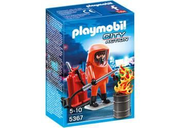 Playmobil | CIty Action - Special Forces Firefighter