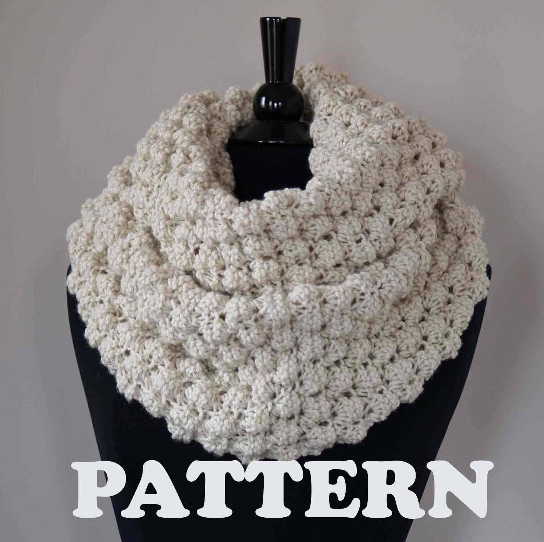 PATTERN (instruction) Cowl, Snood , Scarf Knit PDF Pattern. $4.00 ...