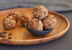 Need a quick bite between your workout and your next meal? Go from work to workout fueled by these plant-based mocha chocolate protein bites.