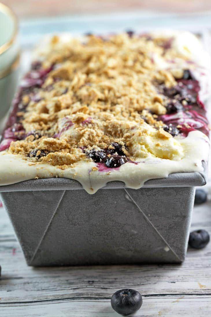 Blueberry pie ice cream its your favorite summer pie