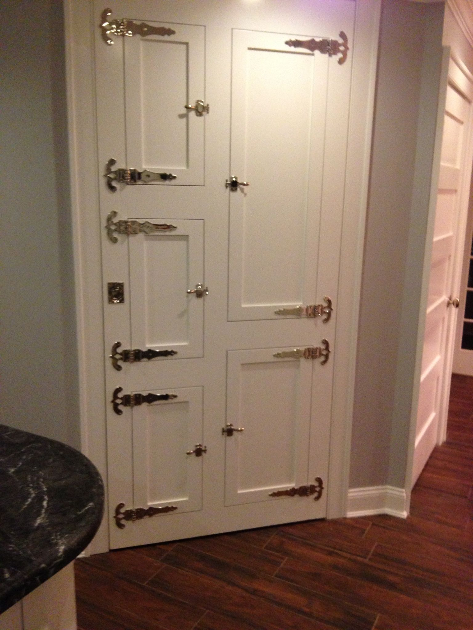 Customer Requested Custom Pantry Door With An Antique