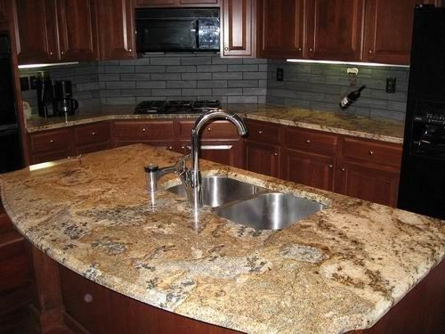 Brown Laminate Cabinets : Hickory cabinets with lapidus brown laminate google