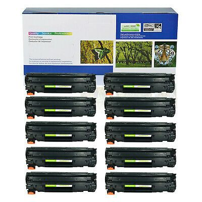 6PK New CE285A Black Toner Cartridge for HP LaserJet Pro M1216nfh M1217nfw