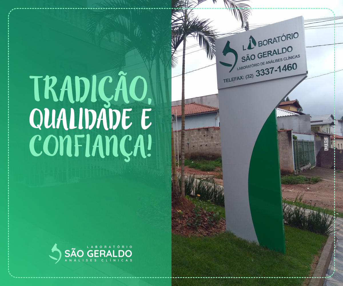 f7cca4e35bc8 O Laboratório São Geraldo possui tradição e qualidade em Medicina  Laboratorial. Fundado há mais de