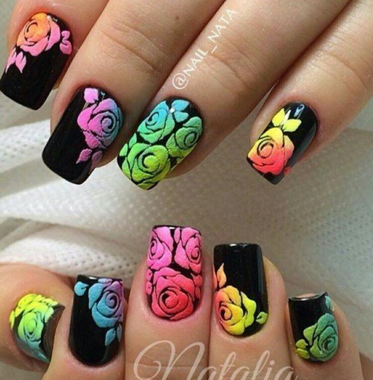Untitled | Arte de uñas, Uñas decoradas, Diseños de uñas