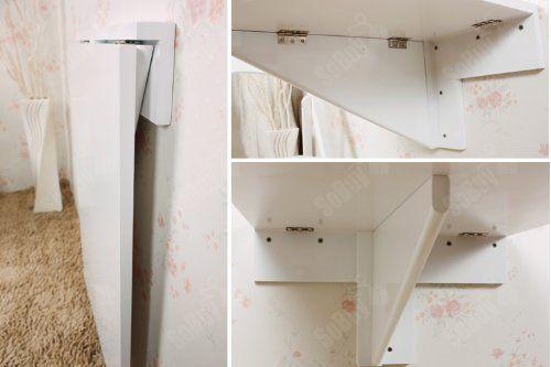SoBuy® Mesa plegable de pared, mesa de cocina, mueble infantil, mesa ...