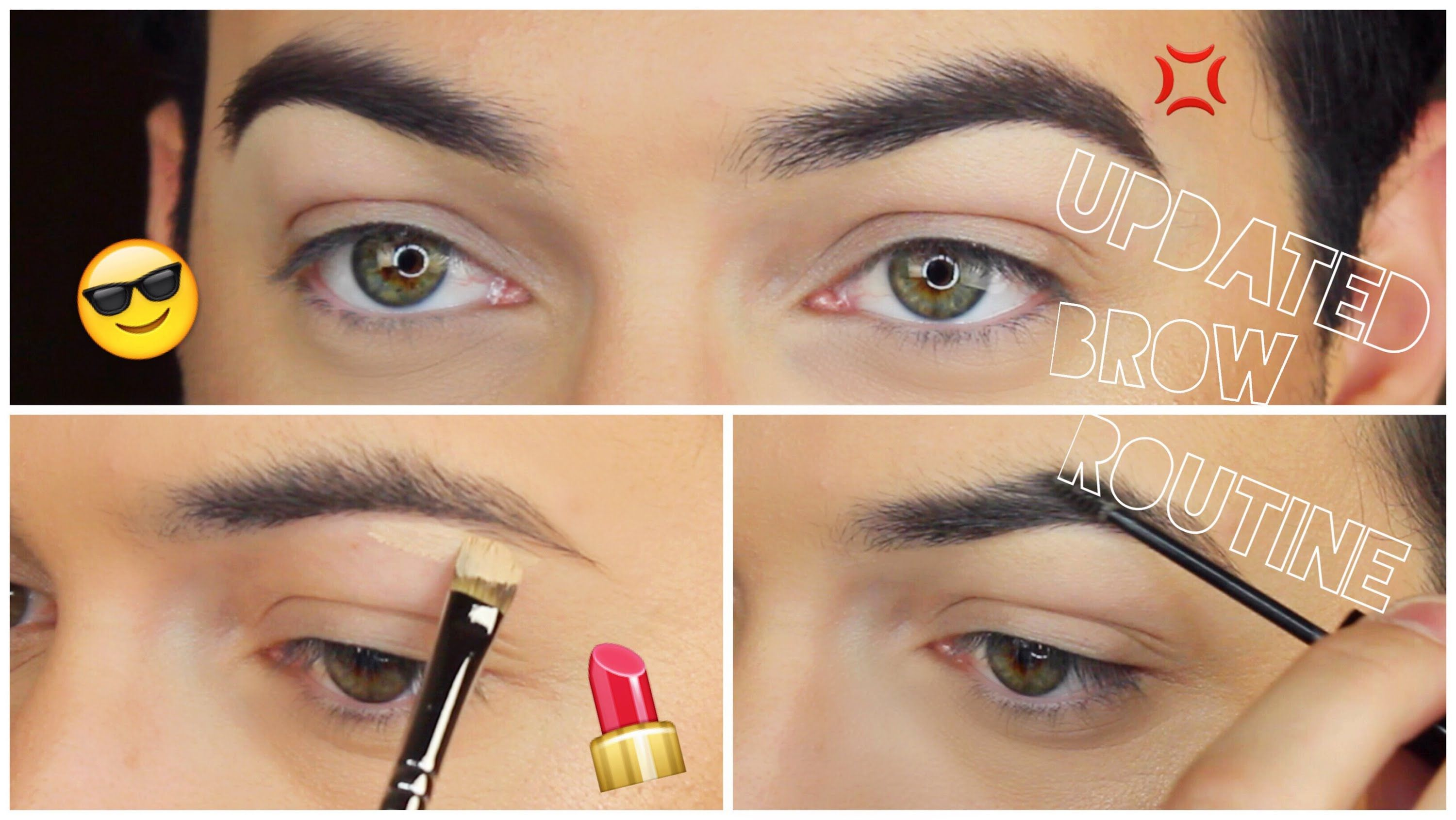 Natural Brow Routine   MannyMua