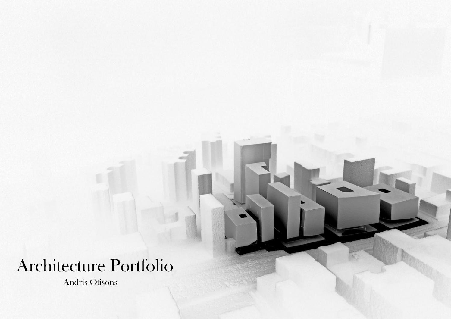Architecture Portfolio Architecture Portfolio Issuu