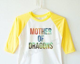 Galaxy Mother of dragons shirt funny shirt cool shirt children tshirt kids baseball tee long sleeve tee kids shirt toddler shirt youth shirt