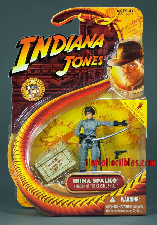 NEW 2008 Dr Henry Jones 3 3//4 Indiana Jones Last Crusade Action Figure by Hasbro
