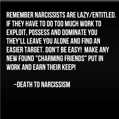 How To Berate A Narcissist To Leave You Alone