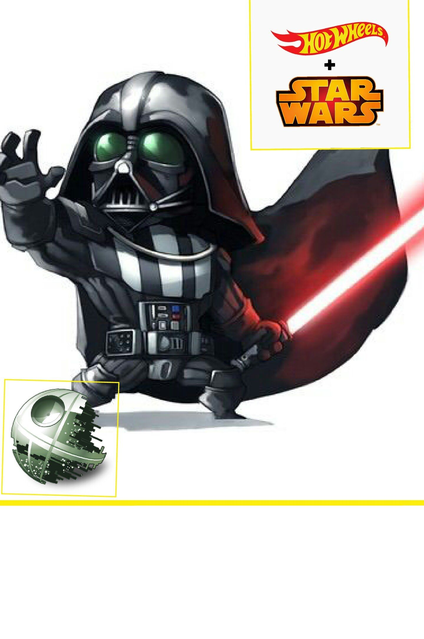 Star Wars Darth Vader Hot Wheels Car
