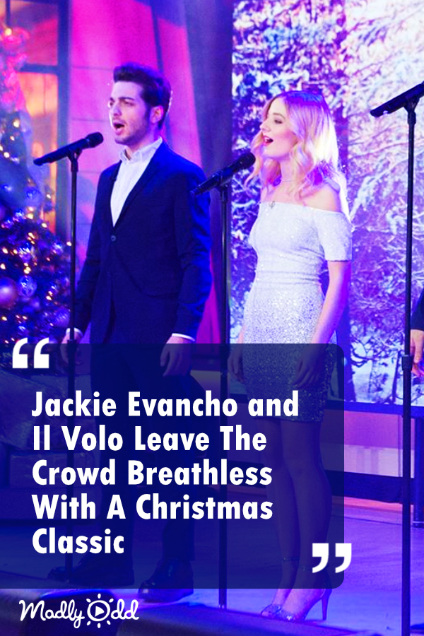 Since its release and Simeone's rendition, countless artists have performed the Christmas carol. But surely nothing can compare to Jackie Evancho and Il Volo's rendition. #Christmasmusic #Christmas #JackieEvancho #music #holidays