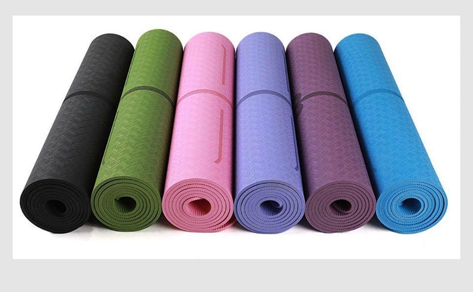 Yoga Mat Position Line Non Slip Gymnastics Mats Carpet Mat How To Do Yoga