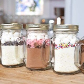 How To Make 5 Hot Chocolate In A Jar Recipes Afternoon Baking With Grandma Hot Chocolate In A Jar Recipe Hot Chocolate In A Jar Meals In A Jar