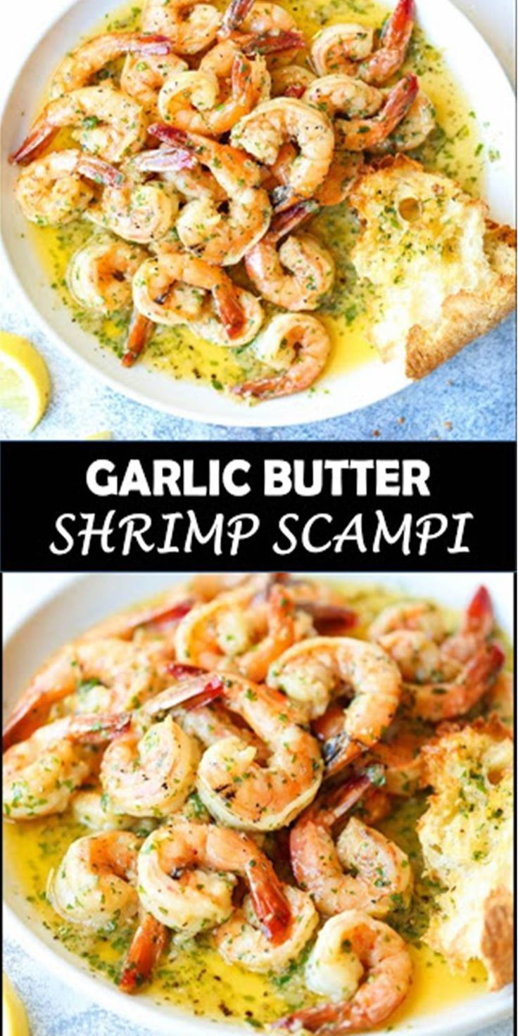 Photo of #AMAZING #DINNER #GARLIC #BUTTER #SHRIMP #SCAMPI
