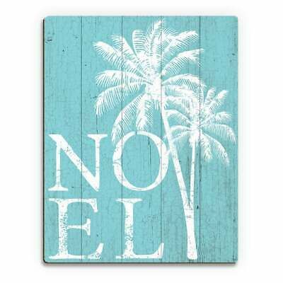 Noel Palms - Snow Day Wall Art Print on Wood #fashion #home #garden #homedcor #postersprints (ebay link)
