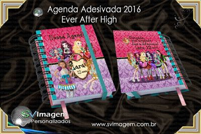 Agenda-Adesiva-2016-personalizada-no-Tema-Ever-after-high