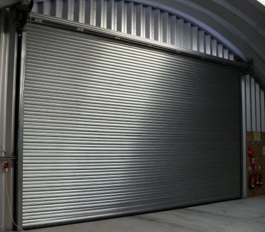 Galvanised Steel 3 Phase Commercial Roller Shutter Roller Doors Roller Shutters Shutter Doors