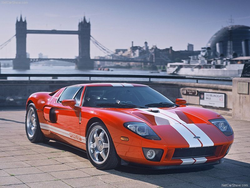2005 Ford Gt Top Speed 205 Mph 330 Km H 0 60 Mph 3 6 Seconds