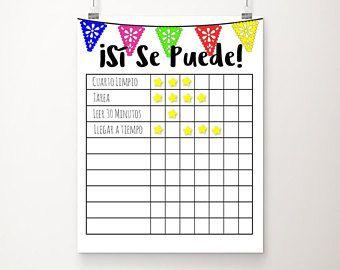 printable progress charts