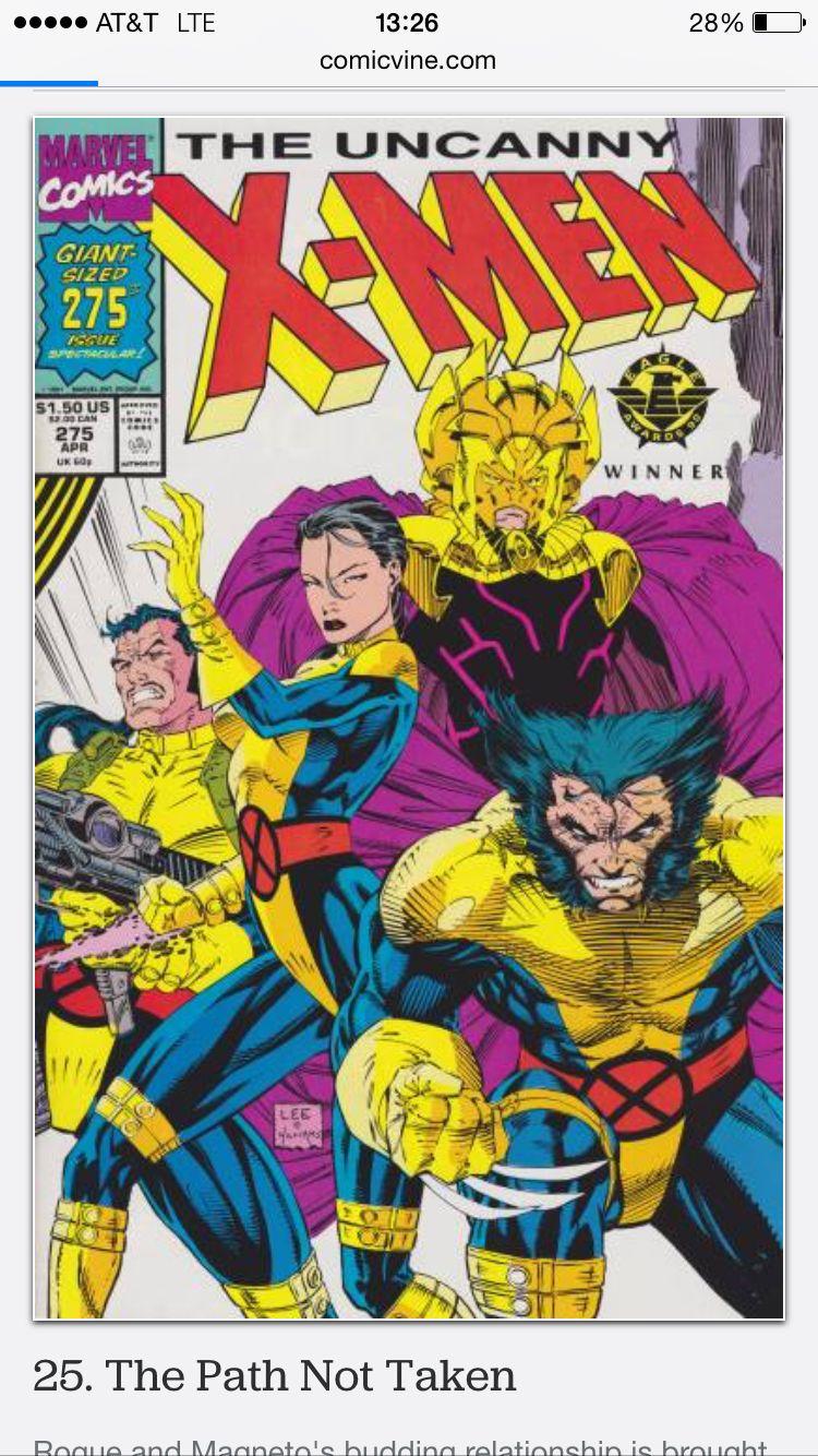 Uncanny X Men 275 Magneto Kills Zaladane Ending Relationship W R Jim Lee Art Comic Art Comic Covers