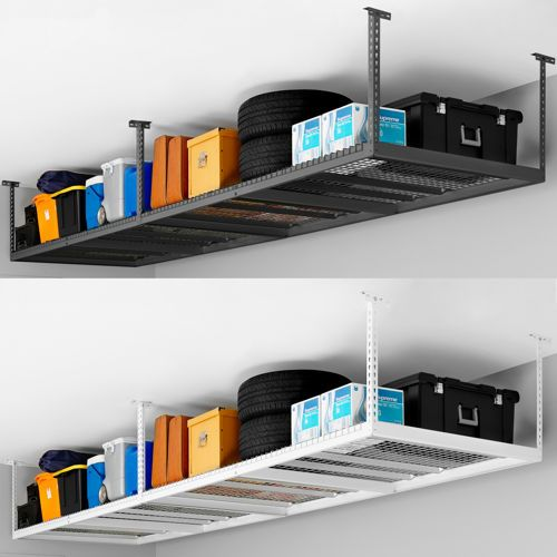 Costco Storage | NewAge 4 ft. x 8 ft. Ceiling Storage Rack - Costco Storage NewAge 4 Ft. X 8 Ft. Ceiling Storage Rack