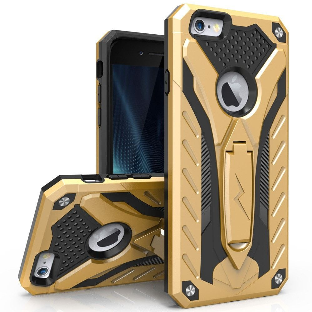 brand new bfdfe 8700f Zizo STATIC Kickstand iPhone 6/6S Case - Gold/Black | For Him ...