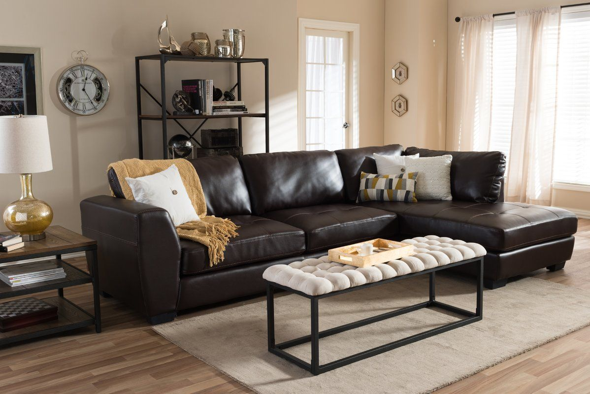 Awe Inspiring Ehrlich Sectional Maybe Too Big Apartment In 2019 Andrewgaddart Wooden Chair Designs For Living Room Andrewgaddartcom