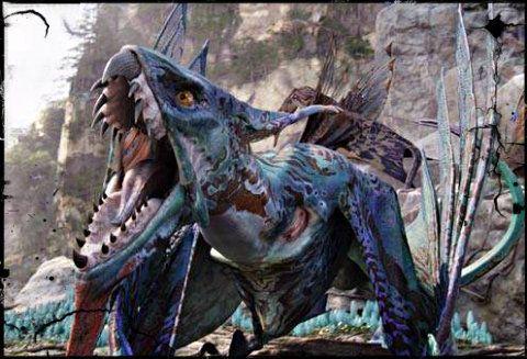 Mountain banshees (ikran) - Avatar (movie) - James Cameron