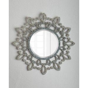 Horchow Fleur-De-Lis Lace Mirror