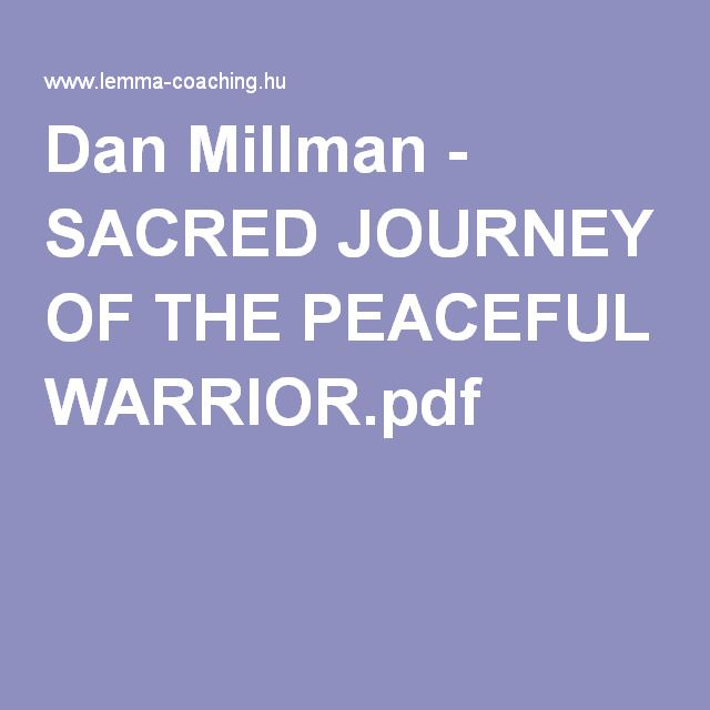 Way of the peaceful warrior by dan millman pdf