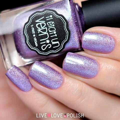 A super sweet purple holographic polish ✨ BUY HERE: http://bit.ly/LLPSweet