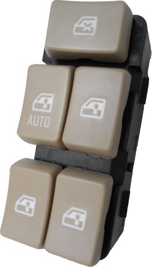 Buick Rendezvous Window Switch 2002 2007 Tan Buttons Buick Switch Rendezvous