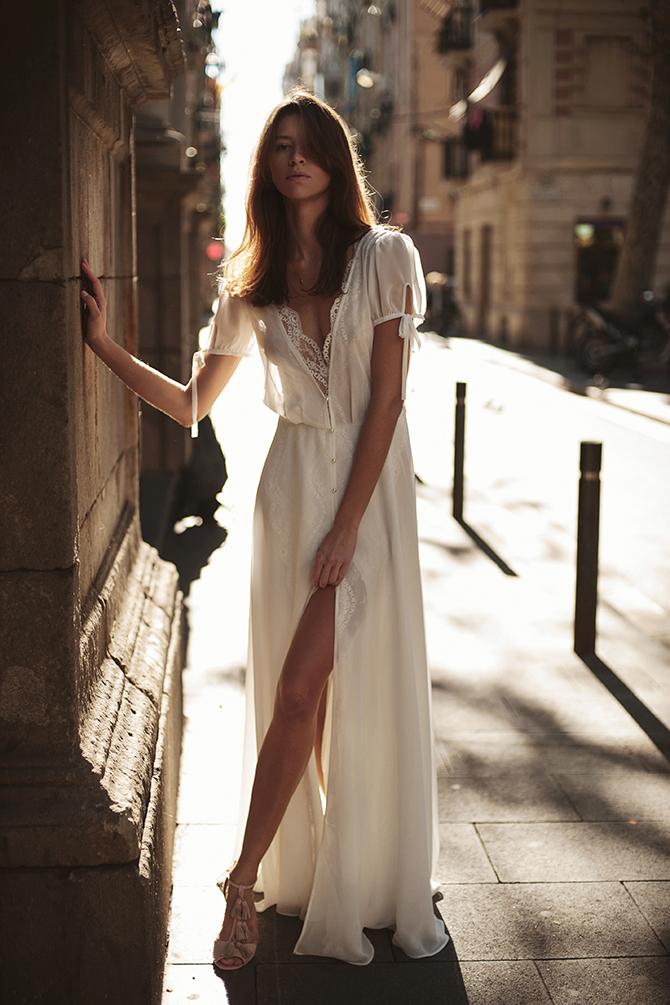 Aurelia Zmyslowa Suknia Slubna Ateliertwardowska Com Boho Fashion Wedding Dresses Dresses