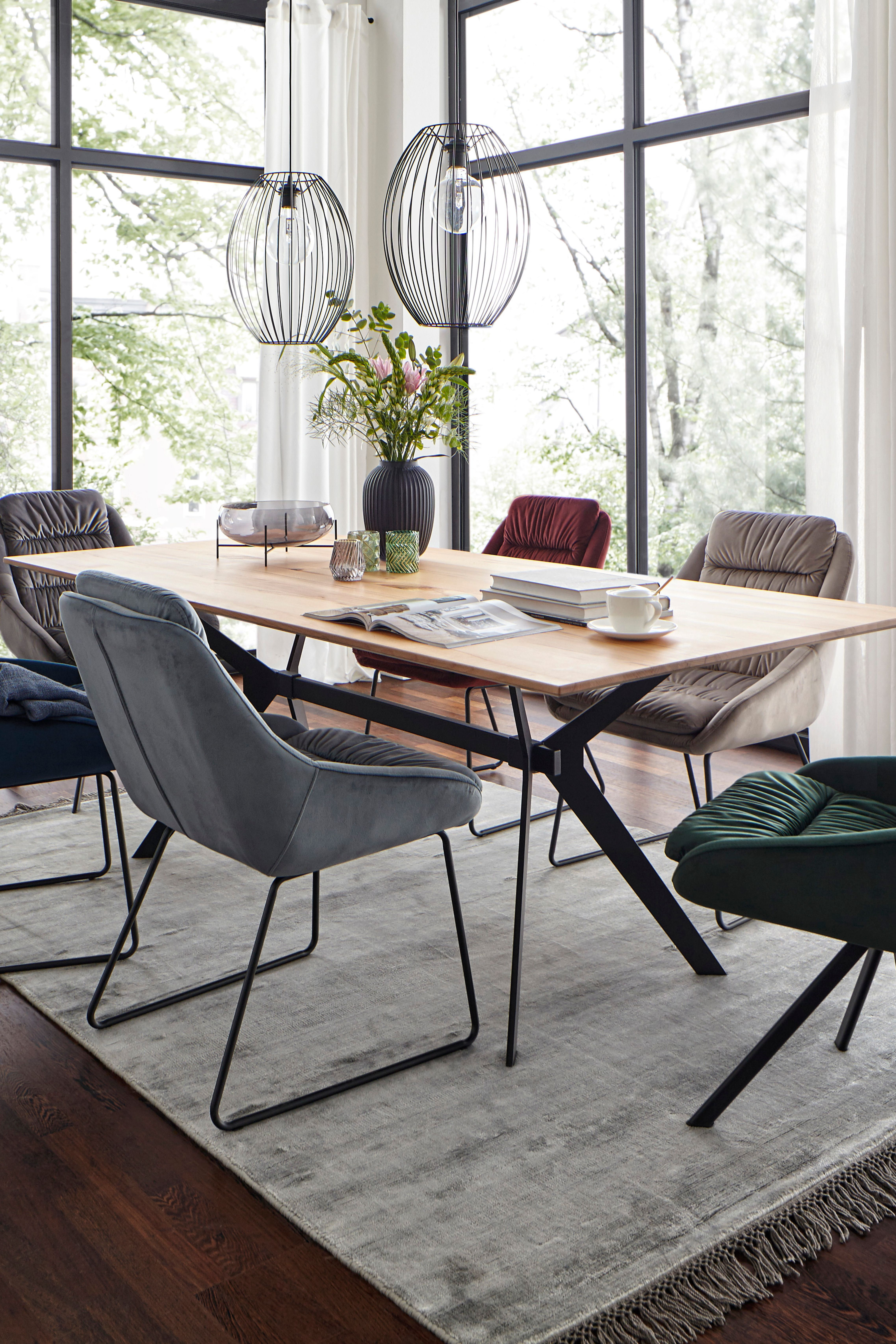 Tischgruppe Stuhle Esstisch Holztisch Ausziehbar Esszimmerstuhle Esszimmerstuhl
