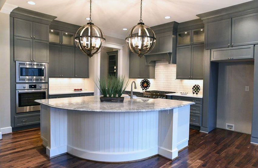 Best 30 Gray And White Kitchen Ideas Grey Kitchen Cabinets 640 x 480