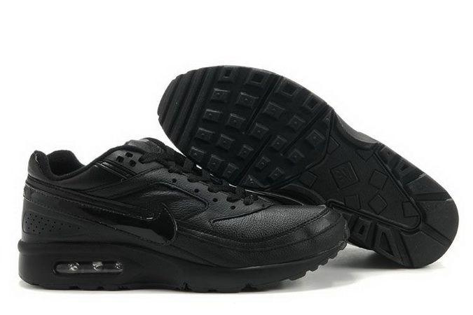 nike air max bw all black