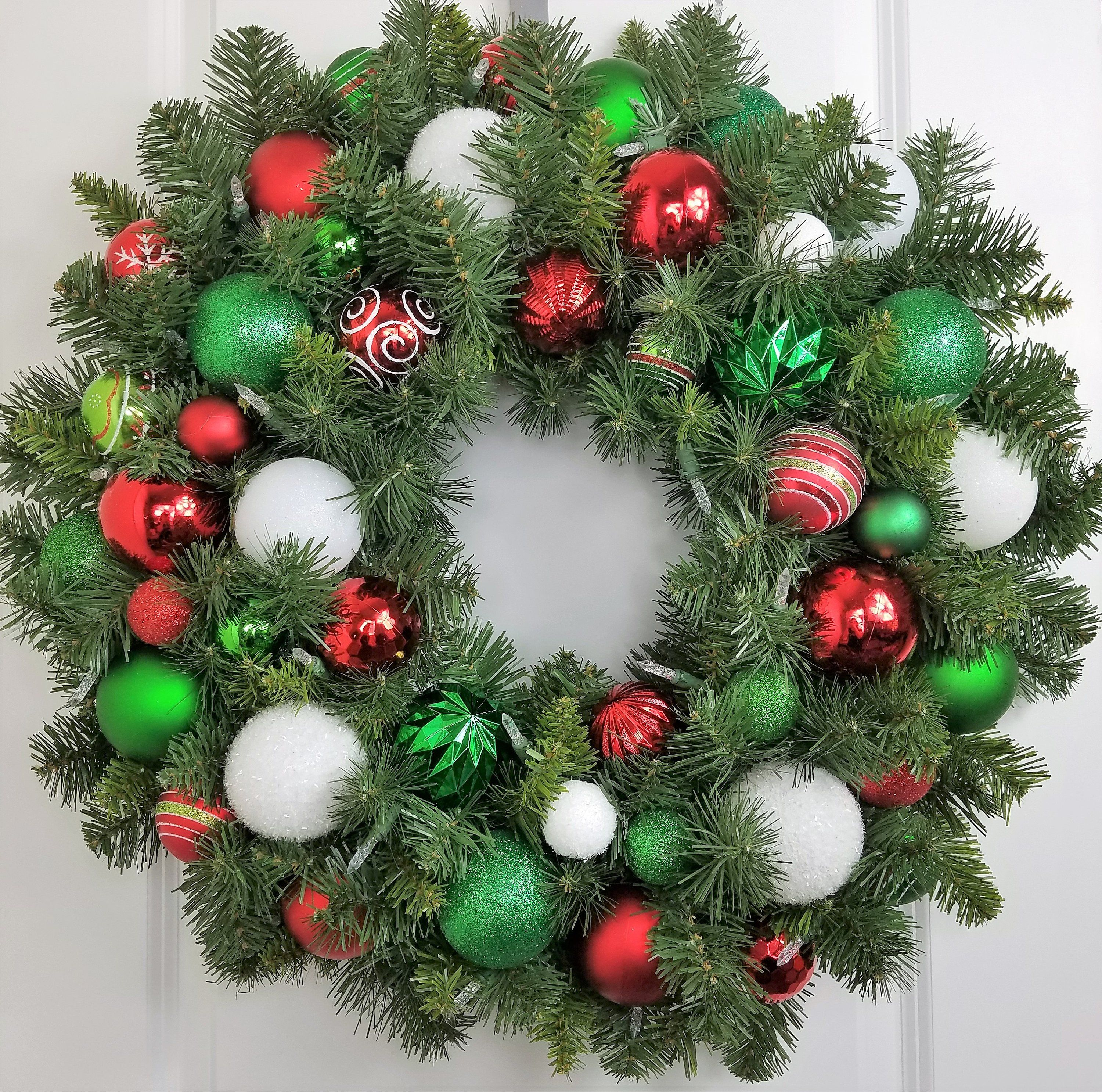 Reserved Pre Lit Wreath Christmas Door Decoration Outdoor Large Christmas Wreath Artificial Christmas Wreaths Outdoor Christmas Wreaths