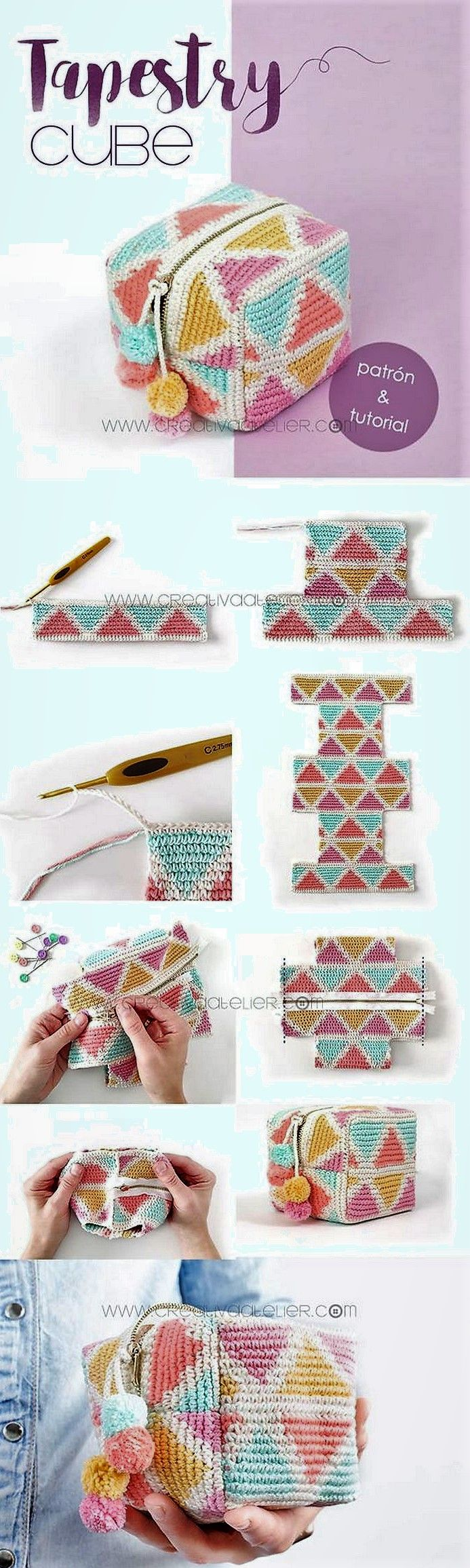 2019 Latest And Adorable Free Crochet Patterns #tejidos