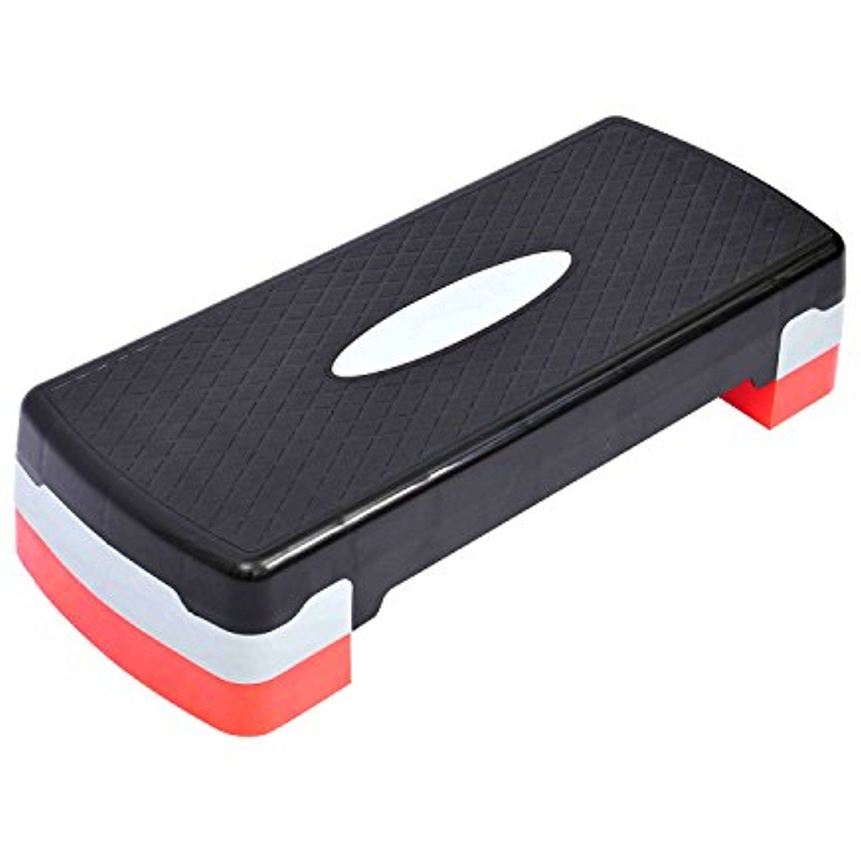 Tenive Adjustable Aerobic Step Protable Stepper Platform Exercise