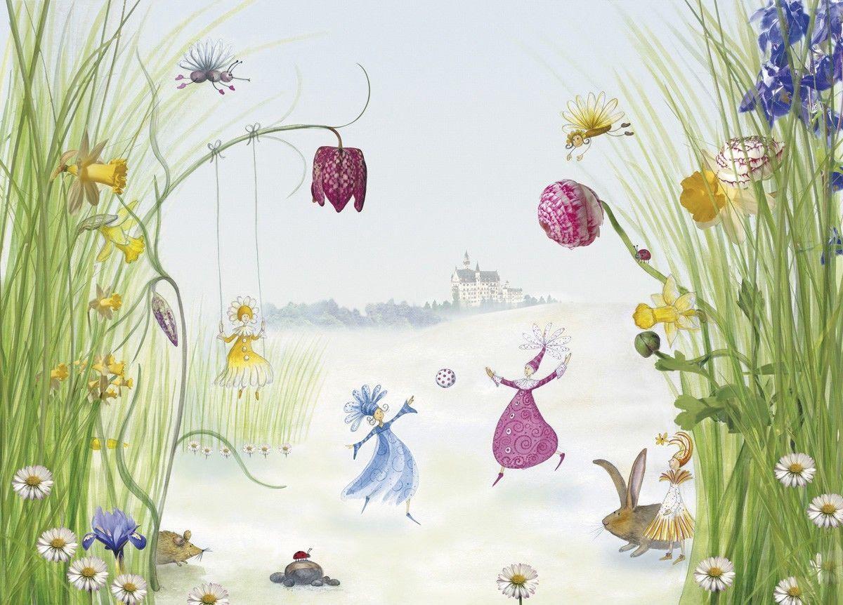 Fototapete Wandbild Kinder Princess 4260 254x184 Komar