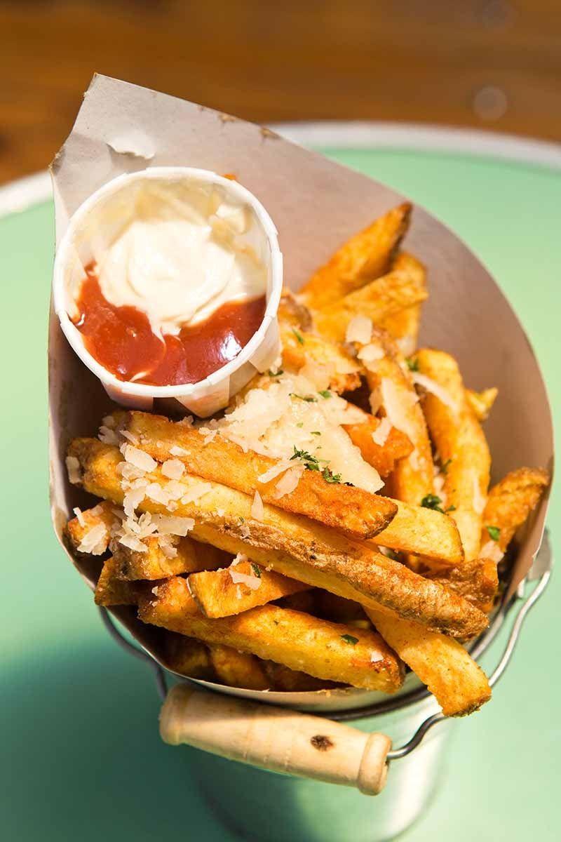 Garlic and Parmesan Fries