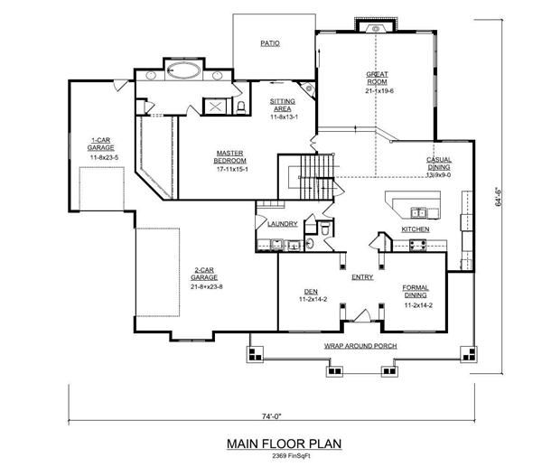 Floor Plan First Story House Plans House Plans And More Floor Plans