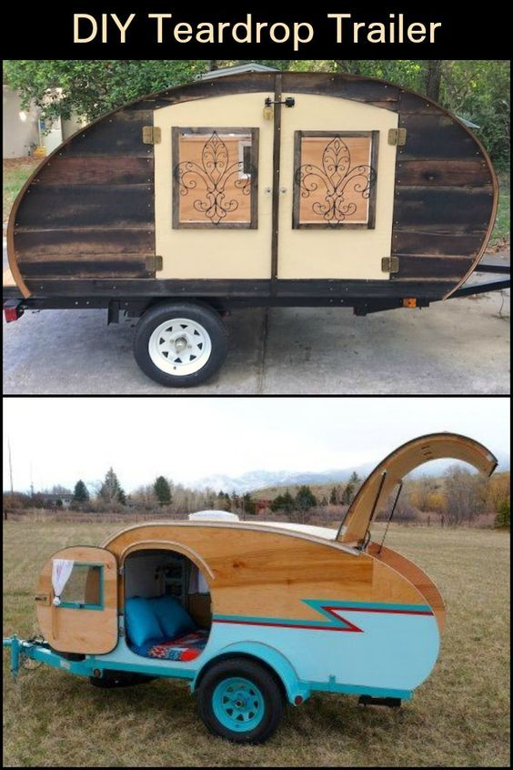 Teardrop Trailer With Bathroom: Build Your Own Teardrop Trailer From The Ground Up